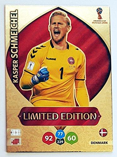 Panini Adrenalyn XL FIFA World Cup 2018Limited Edition Trading Karte von Russland–Kasper Schmeichel–Dänemark