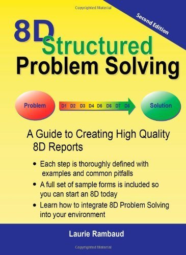 8D Structured Problem Solving (Second Edition) by Laurie Rambaud (2011-05-03) thumbnail