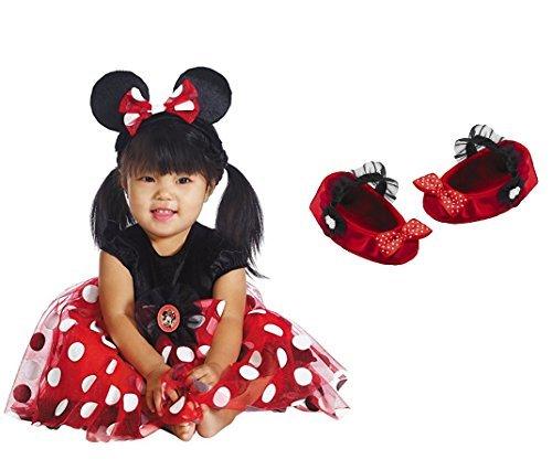 ostüm Gr, 80/86 Disney Kleid + Schuhe US size 12-18 month Karneval Fasching (Disney Baby Minnie Maus Kostüme)