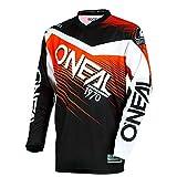 Camiseta De Mx Oneal 2018 Element Racewear Negro-Anaranjado (M , Anaranjado)
