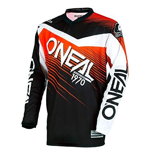 0006-402 - Oneal Element 2018 Racewear Youth Motocross Jersey S Black O