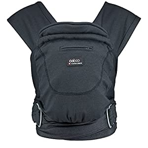 Caboo Cotton Blend Multi Positional Baby Carrier, Phantom Baby Bjorn The latest version with ergonomic seat width and adjustable head support Soft and durable cotton fabric that is machine washable 4 carrying positions: new-born, baby facing-in, baby facing-out and back carrying 10
