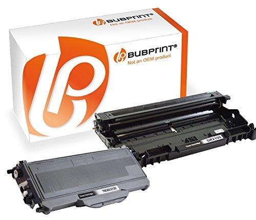 Lj2200 Drucker (Bubprint Toner & Trommel kompatibel für Brother TN-2120 DR-2100 für DCP-7030 DCP-7040 HL-2140 HL-2150N HL-2170W MFC-7320 MFC-7440N MFC-7840W Schwarz)