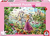 Image for board game Schmidt Fairy in the Enchanted Forest Children's Jigsaw Puzzle (200-Piece)