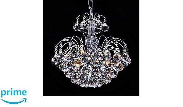 Plafoniera Fiori Cristallo : Louvra lampatario di cristallo moderno lampada a sospensione