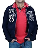 Camp David Sweatjacke CCB-1803-3393 Ocean Drive (Blue Navy, S)