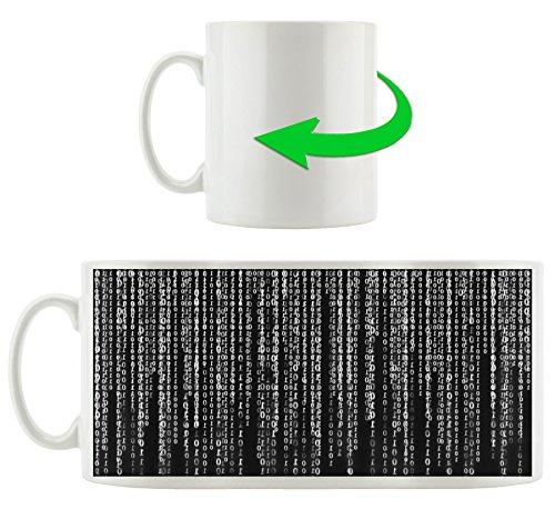 Matrix-trinken (Monocrome, Matrix, Motivtasse aus weißem Keramik 300ml, Tolle Geschenkidee zu jedem Anlass. Ihr neuer Lieblingsbecher für Kaffe, Tee und Heißgetränke)
