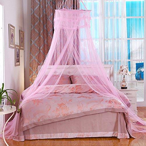 Schlafzimmer nach Hause Baldachin Bett Baldachin Netting Vorhang Mücken Insekt Mesh Moskitonetz - Schwarz Netting-bett