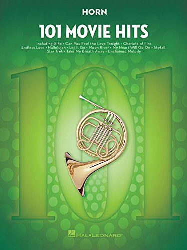101 Movie Hits For Horn: Noten, Sammelband für Horn