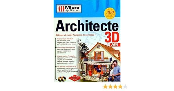 Architecte 3D 2001: Collectif: Amazon.fr: Logiciels