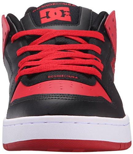 DC Skateboard Shoes MANTECA RED/GREY schwarz/red