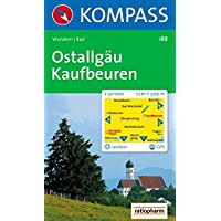 Ostallgäu, Kaufbeuren: Wander- und Radkarte. GPS-genau. 1:50.000