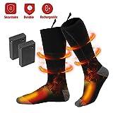 chausettes riscaldate – Scaldapiedi ricaricabile isolamento termico -5 ore sostenibile – Compatibile con tutti i scarpe per calze sci/Pesca/Escursionismo/Campeggio (S)
