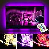 TV Lichter USB LED Fernseher Beleuchtung Streifen Licht für 65 70 Zoll TV Hintergrund Streifen Licht Dekor 20 Farb Optionen Dimmbar mit Fernbedienung