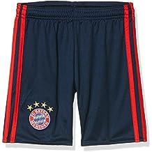 adidas Bayern Fc H Gk Sho Y - Pantalón de portero para niños de 11-12 años, color azul / rojo