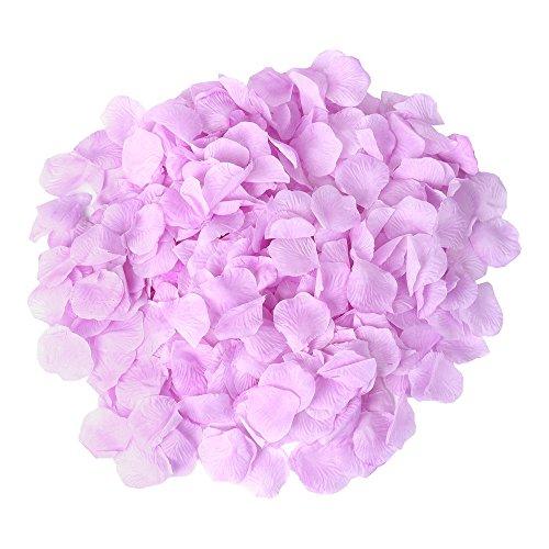 S/o 500pezzi rosa petali di Rose fiori lillà petali fiori fiori artificiali seta fiori
