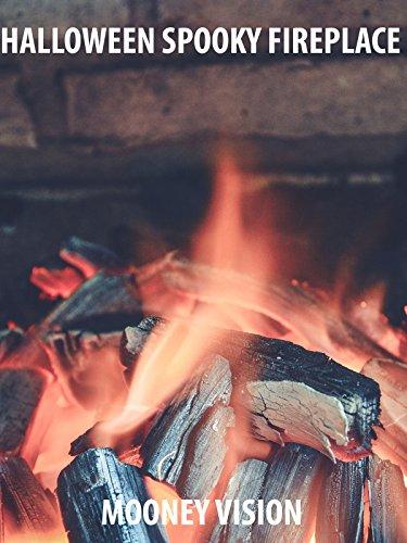 Halloween Spooky Fireplace ()
