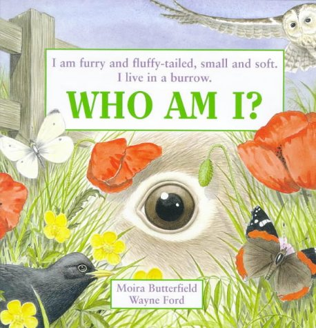 I am furry and fluffy-tailed, small and soft. I live in a burrow. Who am I?