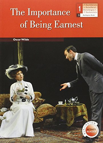 The Importance Of Being Earnest 1 Bachillerato