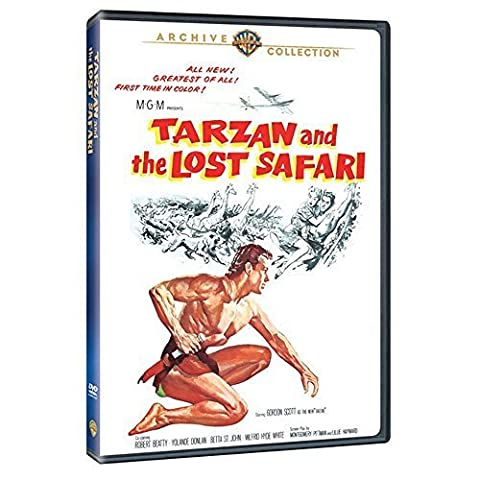 Tarzan And The Lost Safari by Gordon Scott