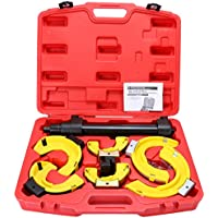 FreeTec Universal Federspanner für McPherson Federbeinsysteme Tieferlegung Kfz Werkzeug für viele Fahrzeugtypen