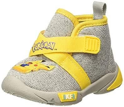 Kidsfun Pokemon Unisex Kid's KF0257K Grey Sneakers-0-12 Months UK 19 EU (KF0257KGYGY0019)