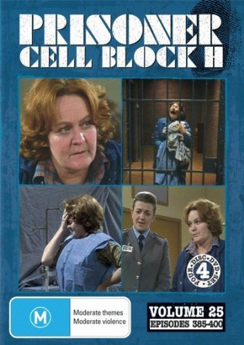 Prisoner: Cell Block H - Vol. 25 (Ep. 385-400) - 4-DVD Set ( Caged Women ) ( Women Behind Bars ) by Alan Hopgood (Caged Woman-dvd)