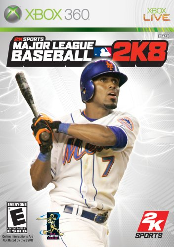 Major League Baseball 2K8 - Xbox 360 - 360 Xbox Baseball-spiele,