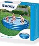 Bestway Planschbecken Big Metallic, 249 x 53 cm -