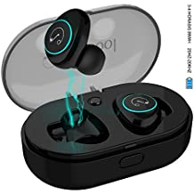 StillCool Auricular Bluetooth Inalámbricos Mini 5.0 In-Ear X8 con Efectos de Luz, con