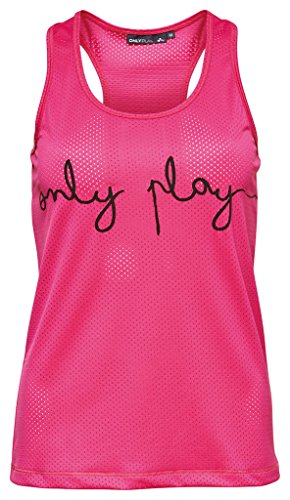 ONLY PLAY - Rosa Giselle Maglia canotta Dimensioni XS UK 6 EUR 34 USA 2