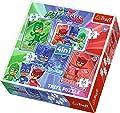 trefl- Puzzle 4 en 1 modèle PJ Masks 35-48-54-70 pièces, 34291, Multicolore
