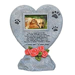 PETAFLOP Gedenktafel für Haustiere Steine Garten Backyard Marker Grave Grabstein–Katze Hund Memorial Geschenke