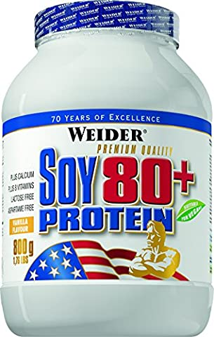 Weider Nutrition Soy 80 Plus Protein Vanilla Powder 800g