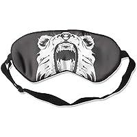 Comfortable Sleep Eyes Masks Angry Lion Pattern Sleeping Mask For Travelling, Night Noon Nap, Mediation Or Yoga preisvergleich bei billige-tabletten.eu