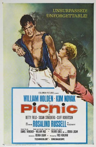 Picnic Plakat Movie Poster (27 x 40 Inches - 69cm x 102cm) (1956) B