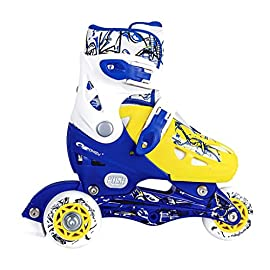 585fded47f14ae SPOKEY® NIPPER Pattini in Linea / Pattini a rotelle (Bambini Inline Blades  Dimensioni 27-30/31-34)