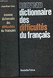 NOUVEAU DICTIONNAIRE DES DIFFICULTES DU FRANCAIS.