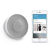 Netatmo Smart Indoor Siren, Wireless, 110dB, Auto Arm & Disarm, No Subscription, Batteries or Wired, NIS01-UK