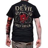 ROAD RODEO T-Shirt Back Print, Rock'n'Roll, Rockabilly, Teufel, Hellride