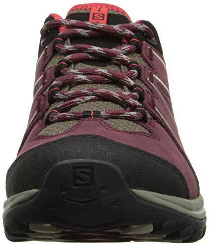 Salomon Ellipse 2 LTR Damen Schuhe swamp-pinot noir