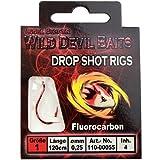 Angel-Berger Wild Devil Baits Drop Shot Vorfach Dropshot Rig - made in Japan -
