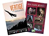VERTIGE D'UNE RENCONTRE + SALES BETES 2 DVD Jean michel BERTRAND...