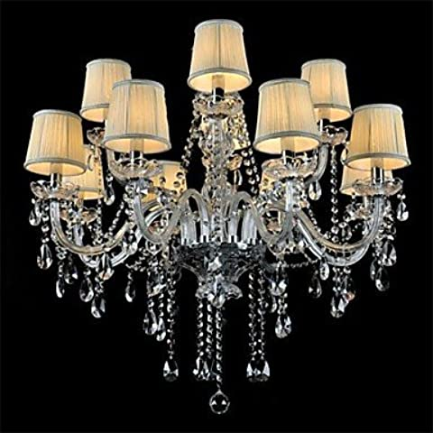Moddern Crystal Chandelier with 12 Lights (A) ,