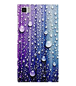 Droplets on Colourful Wall 3D Hard Polycarbonate Designer Back Case Cover for Xiaomi Redmi Mi3