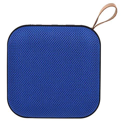 Haut-Parleur Bluetooth Radio FM Enceinte Bluetooth Portable Pas Cher et Puissante Mains-Libres Stéréo HD Subwoofer Micro et Basses Renforcées Port USB,SD Parfait pour la Maison, l'extérieur
