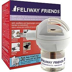 Feliway® Friends Happy Cats Start-Set–Enchufes de Evaporador y 48ml de frasco para 30días