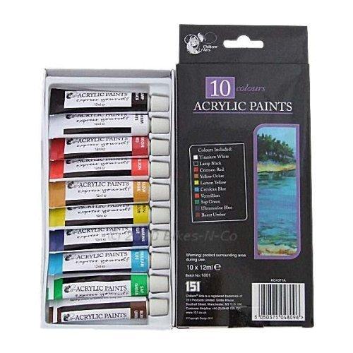 10-colours-acrylic-paints