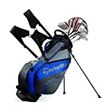 #2: TaylorMade LATEST NEW 2017 AeroBurner Black Graphite Complete Golf Package Set - Right Hand - Regular Flex (FREE NightFlyer LED Golf Balls - 3 Nos. with every Set)