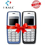 [Sponsored]I KALL 1.4 -inch Display Feature Mobile Combo - K72 (Light Blue + Black)